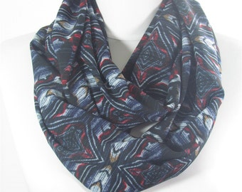 CREATED 45 pcs Tribal Scarf Infinity Scarf Aztec Circle Scarf Boho Loop Scarf Mothers Day Christmas Gift for Her Fashion Travel Gift for Mom