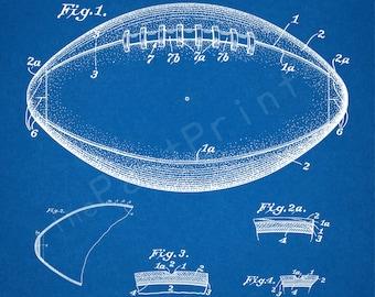 INST DOWNLOAD 5 JPG   Football   Football Wall Art   Football Art   Football Print   Sports Decor   Printable   Patent Print   Sports   Gift