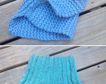 two blue cowls!
