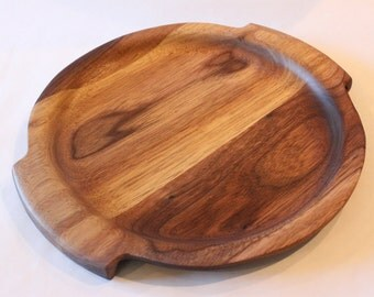 Wooden appetizer platter, cheese plate, cookie plate 10 inch