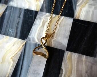 TALULAH Necklace - Milky Quartz