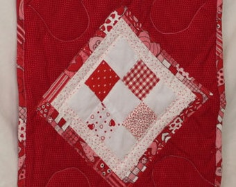 Red Valentine Table Runner