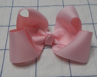 Pink Boutique Bow, Boutique Bow, Baby bow, Girls Bow, Hair Accessories