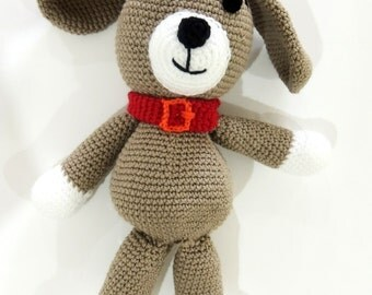 MADE TO ORDER dog, crochet puppy dog, toy puppy dog, stuffed animal, crochet toy