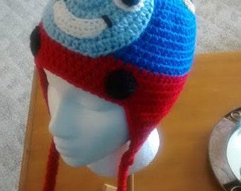 Thomas the Train Earflap Hat