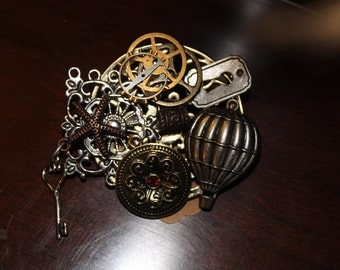 CLEARANCE 40% OFF-A0008-Steampunk Pin/Broche/Necklace