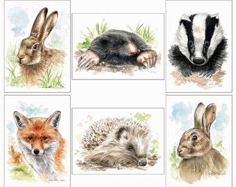 ACEO print animals
