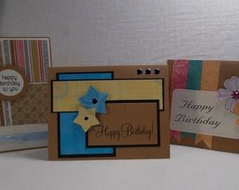 A Dozen Kraft Cards