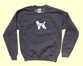 "Poodle ""MAMA"" - Dog Mama Crewneck Sweatshirt"