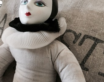 Ancient Pierrot doll dolls 1920?