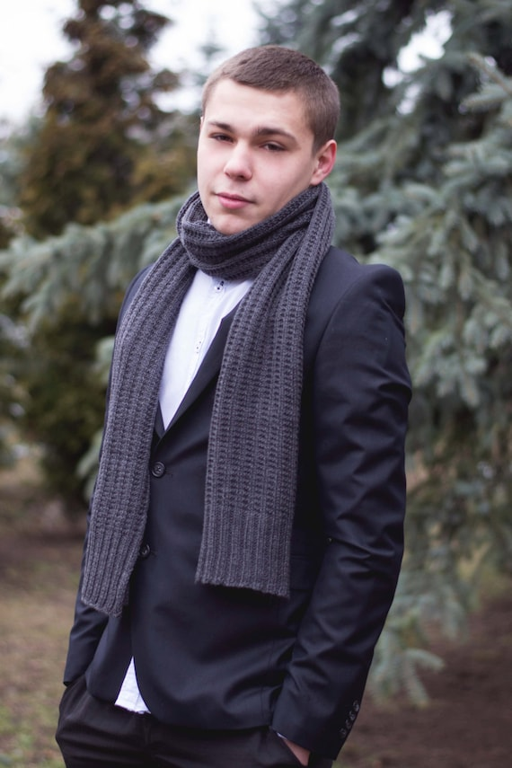 Men's scarves to complement any look. Wool or knit scarves are essentials on the coldest of days, while more lightweight designs are perfect between seasons.