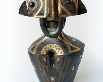Ceramic Sculpture, Fireclay Sculpture, Unique