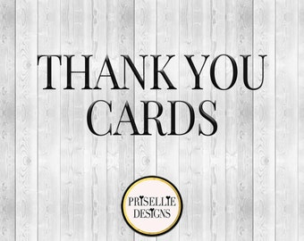 Thank You Cards *Printed*