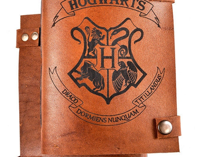 Harry Potter notebook - Harry Potter journal - Harry Potter sketchbook - Harry Potter Diary - Harry Potter gift - Personalized journal