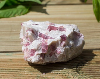 Incredible Elbaite - Pink Tourmaline Mineral Specimen