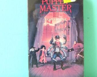 Puppet Master III: Toulon's Revenge - Rare Horror VHS Tape SEALED 1991