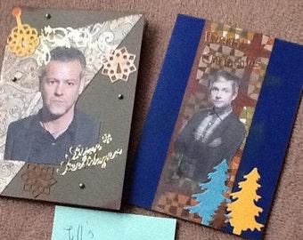 Sherlock BBC Christmas Cards