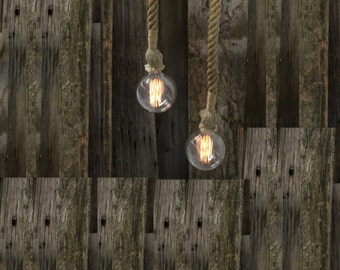 Antique Pulley Edison Bulb Pendant