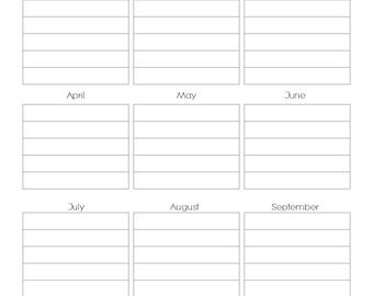 Blog Planning Kit - Blog Planner Flowers Printables - INSTANT DOWNLOAD