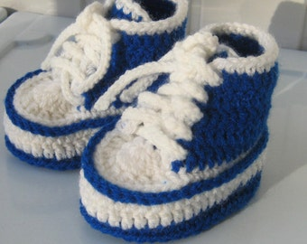 Booties, knitting booties, baby booties, Slippers,  Children's Shoes, Children's gifts, blue, shoes with laces, knitted shoes, ready to send
