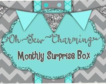 Monthly Surprise Monogram Box