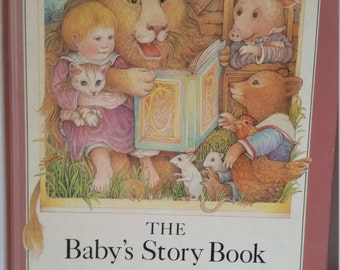 The Baby Story Book By Kay Chorao Vintage Hardcover Book