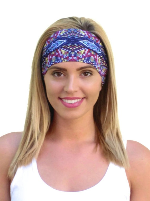 Yoga Headband Athletic Headband Fitness Headband Workout Headband Jogging Headband Running Headband Crossfit Headband Aerobics Headband Etsy