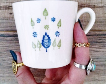 Adorable 'Marcrest Stetson Swiss Alpine Chalet' Coffee Cups!