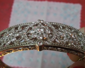 Gorgeous sterling silver bracelet