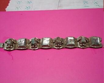 Vintage Taxco sterling silver bracelet