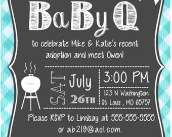 Baby Q invite