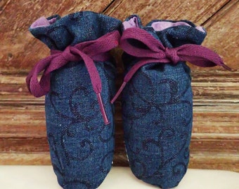Itty Bitty Baby Booties- The Kelsey