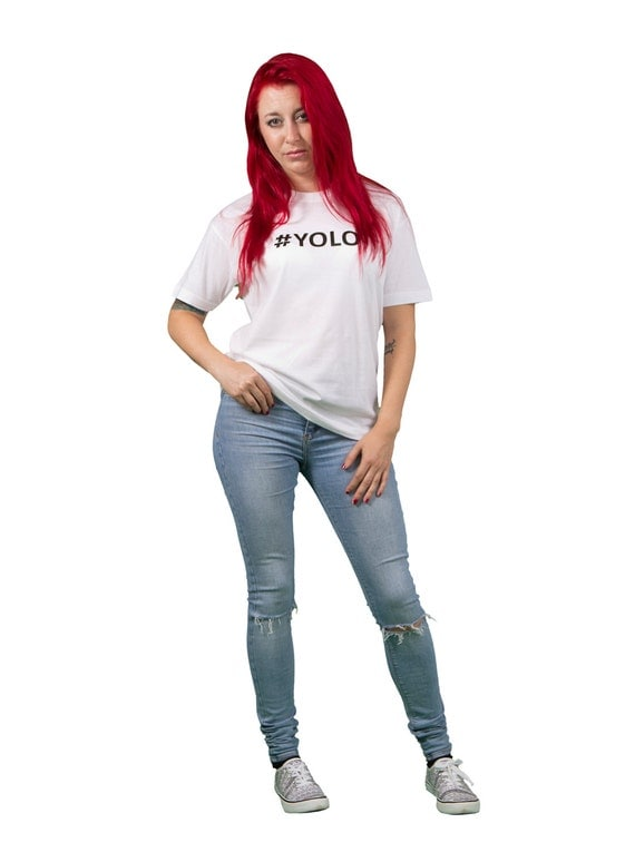 Yolo Hashtag Fashion Yolo You Only Live Once Unisex