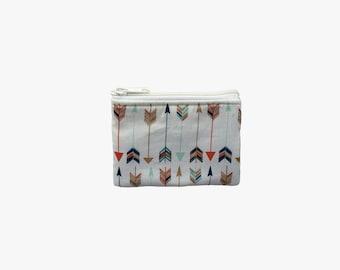 Arrows Coin Bag // Change Purse // Pouch