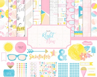 Hot Right Now Digital / Printable Full Scrapbooking Collection