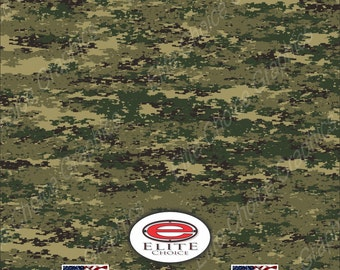 "DIGITAL MARINE 15""x52"" or 24""x52"" Truck/Pattern Print Tree Real Camouflage Sticker Roll or Sheet"