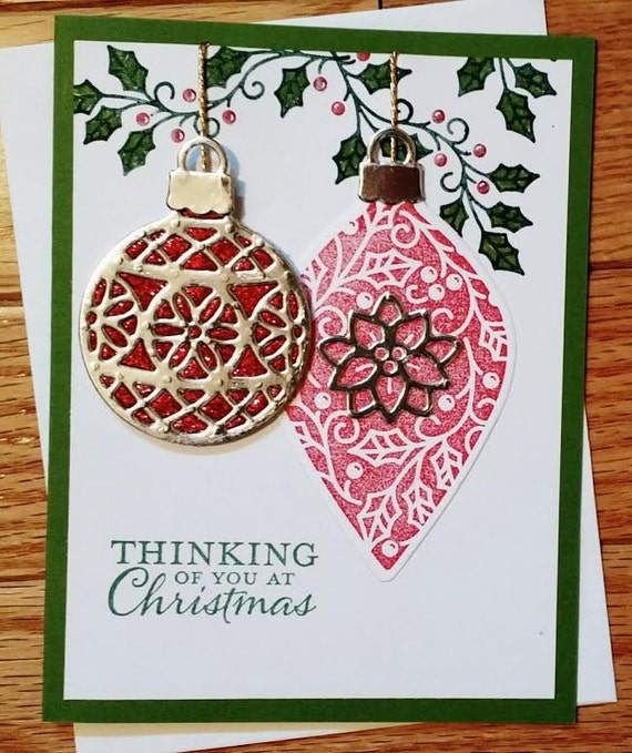Christmas card, Holiday card, Christmas gift, Holiday gift, Christmas greeting, Stampin up christmas, homemade christmas, Homemade card