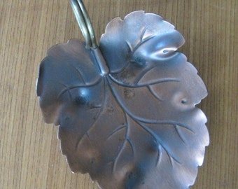 Leaf Dish, Coppercraft Guild, Vintage