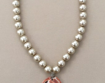 Shell Necklace with Abalone Shell
