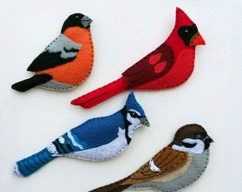 bird magnet | etsy