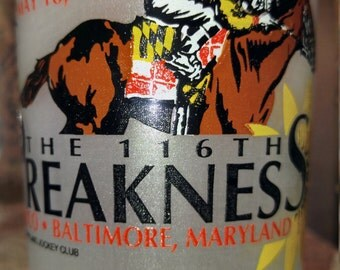 Preakness glass the 116th May 18th 1991
