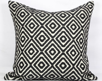 Black throw pillows 18x18 boho pillow case bed black pillow covers 24x24 inch pillow cover 20x20 inch throw pillows sofa pillow covers 16x16