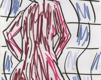 Original Drawing by artcollect: Figure IV (2010)
