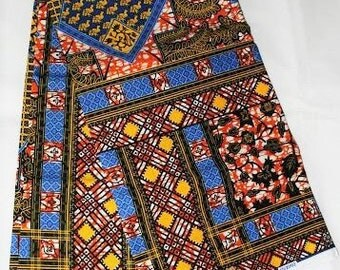 Ankara high quality African fabric Holandis sold by the yard