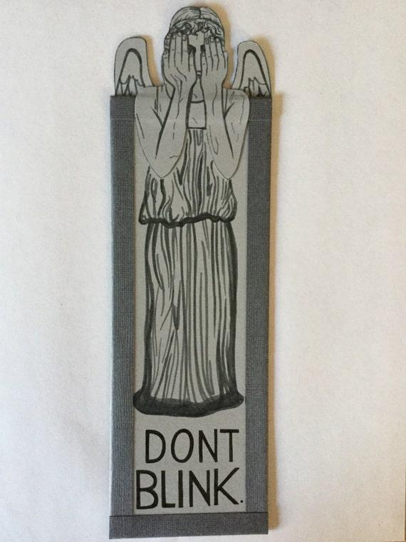 Weeping Angel Bookmark