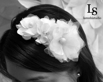 Bridal Hard Headband