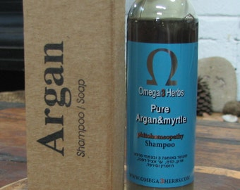 Myrtle herbs shampoo for strengthening hair roots anti-icing handmade from natural materials free shipping