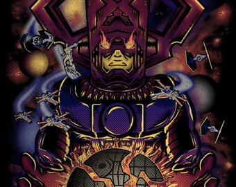 Galactus Eats the Death Star