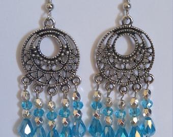 Chandelier Crystal Earrings