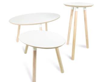 Peque as mesas de centro mesas de madera reciclado tablas de - Mesas de centro pequenas ...